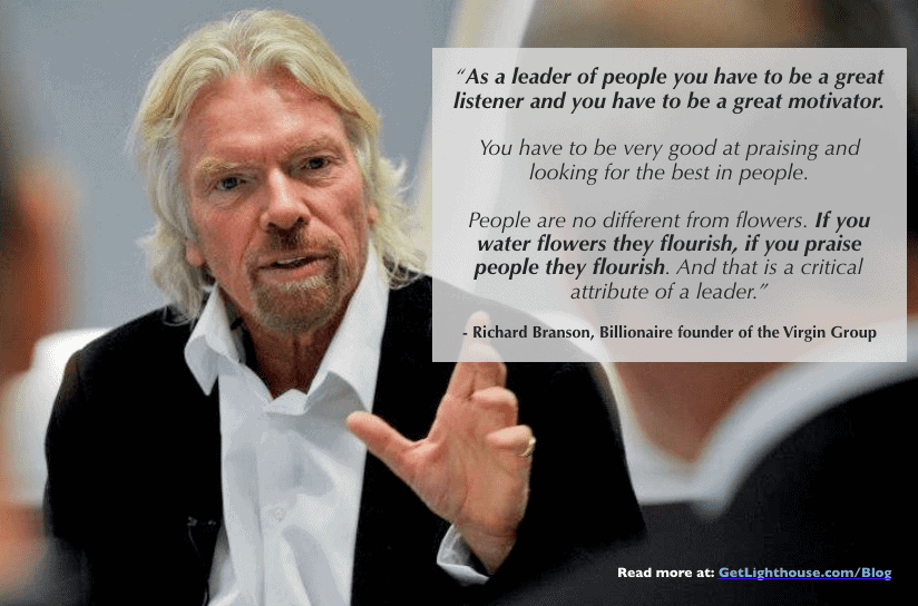 effective praise branson knows it matters too