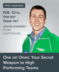 one-on-ones webinar: the secret to high performing teams.