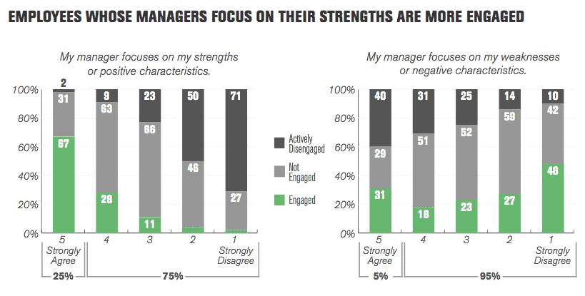 Gallup Employee Engagement survey shows strengths matter