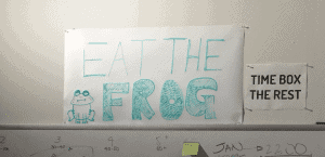 eat the frog to reduce workplace stress