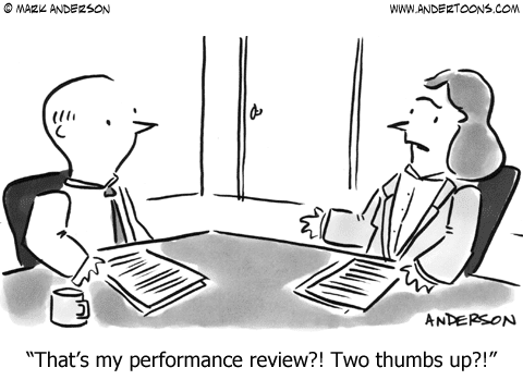 get rid of the performance review managers don't try sometimes.