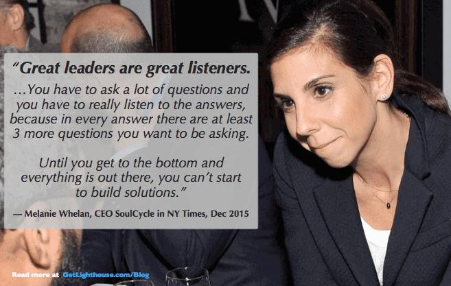 low employee morale happens when you don't listen