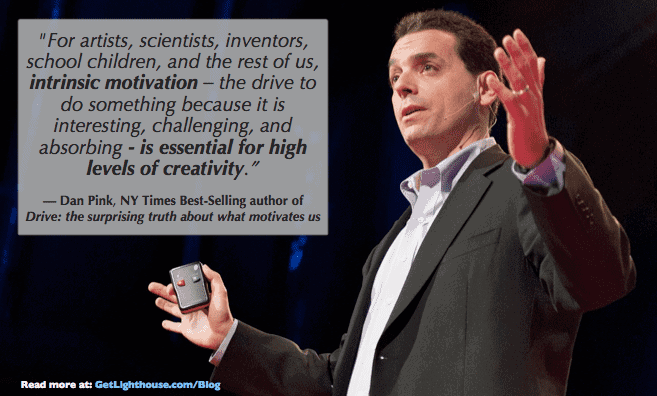 bad bosses need to move away from carrots and sticks according to Dan Pink in Drive