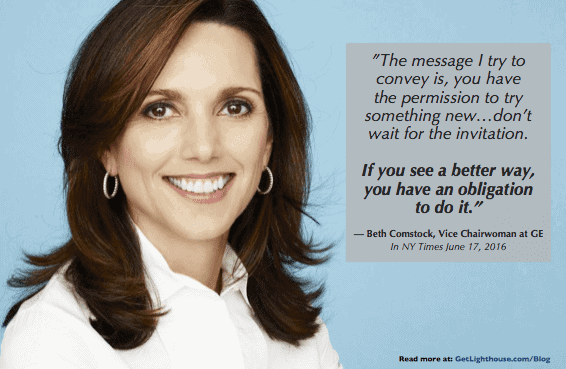 sam walton quotes from made in america - beth comstock knows the importance of autonomy