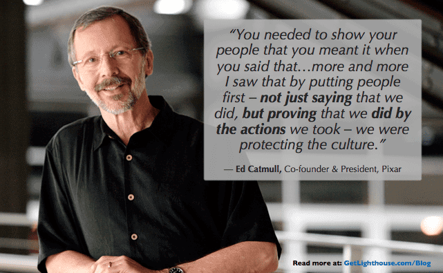 one on one meeting template - Ed Catmull knows how important comittment is