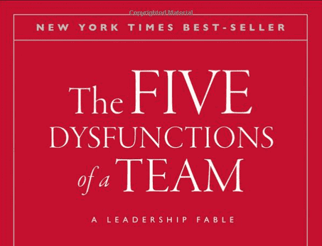 a favorite book of kate matsudaira is 5 dysfunctions of a team