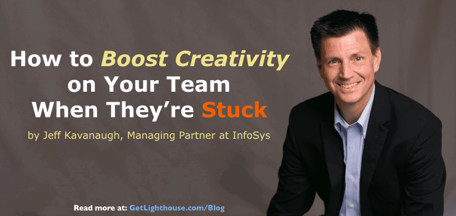 Boost creativity with these tips from jeff kavanaugh