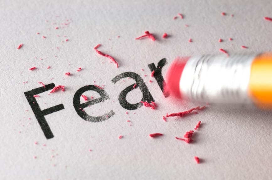 boost creativity by erasing fear