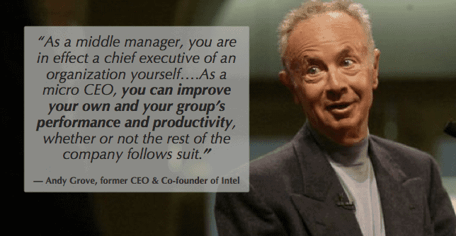 Gallup State of the American Workplace Andy Grove knows the power of managers