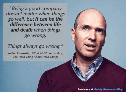 bad managers will kill you when things go wrong like ben horowitz warns