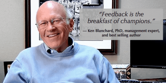 as ken blanchard knows, feedback is a key part of good skip level meeting questions