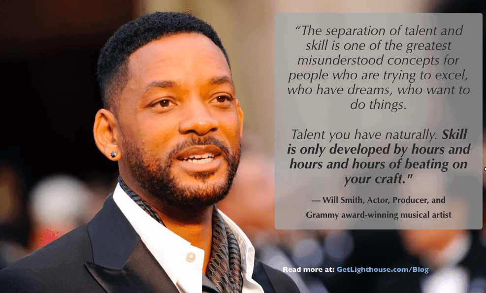Grit is something Will Smith knows a lot about