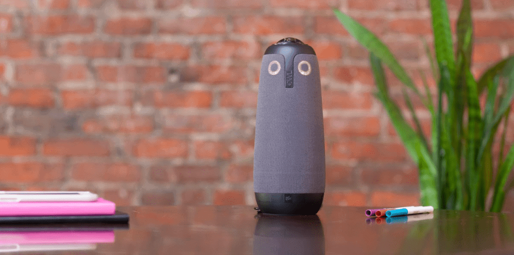 remote work can be enhanced with the meeting owl