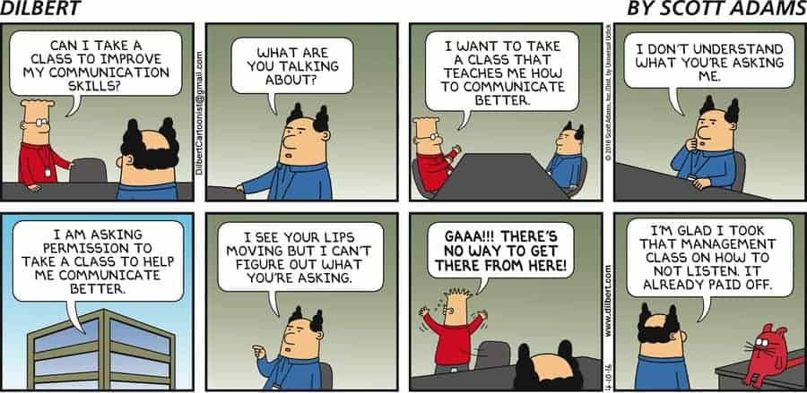 convince your boss - they're not all like dilbert