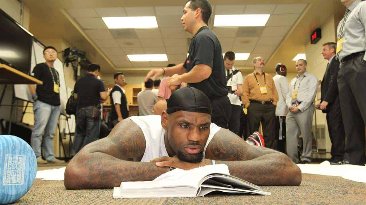 high performing leaders invest in themselves like Lebron does