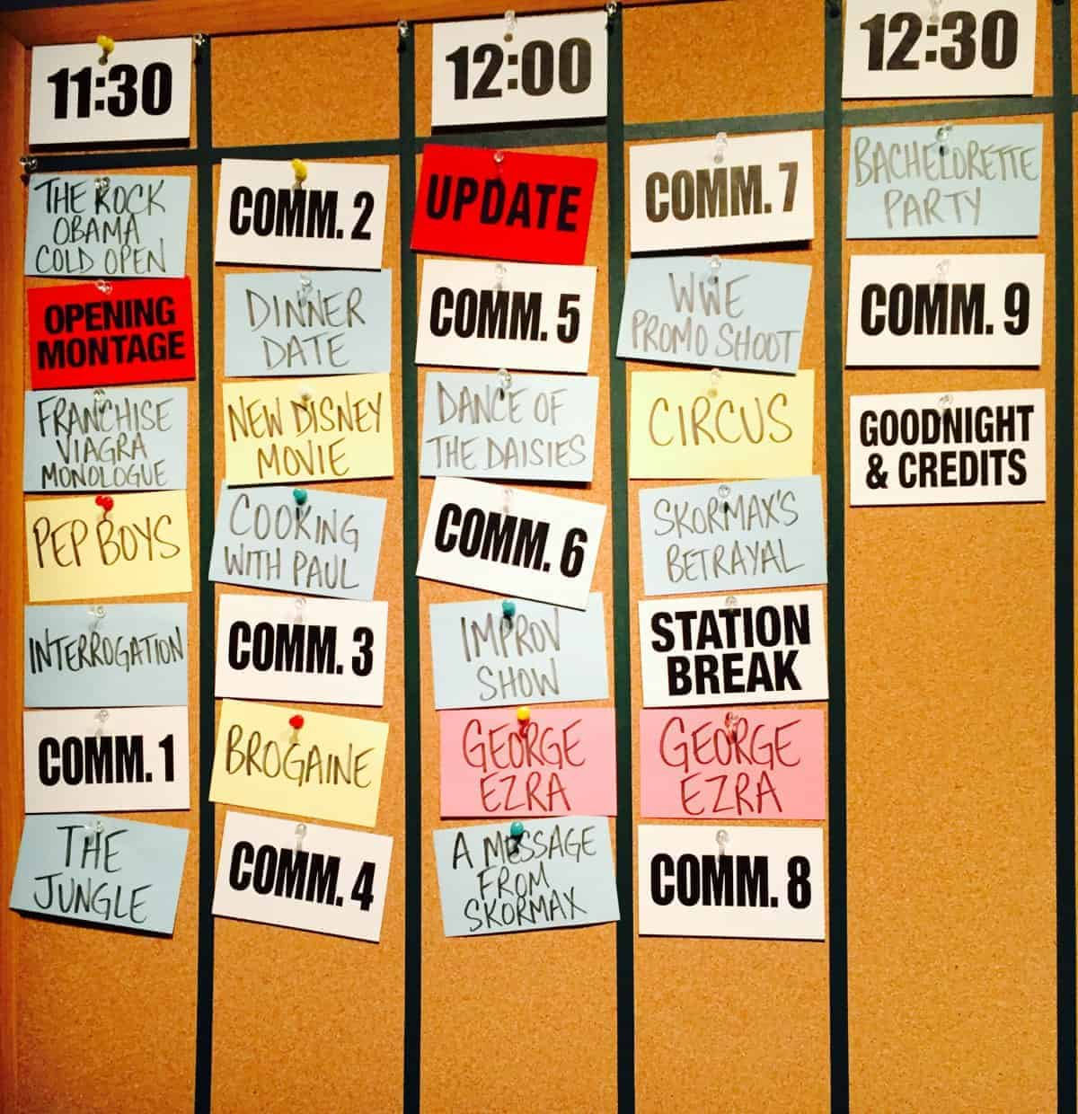 collaborative teams find a way even with crazy schedules like snl