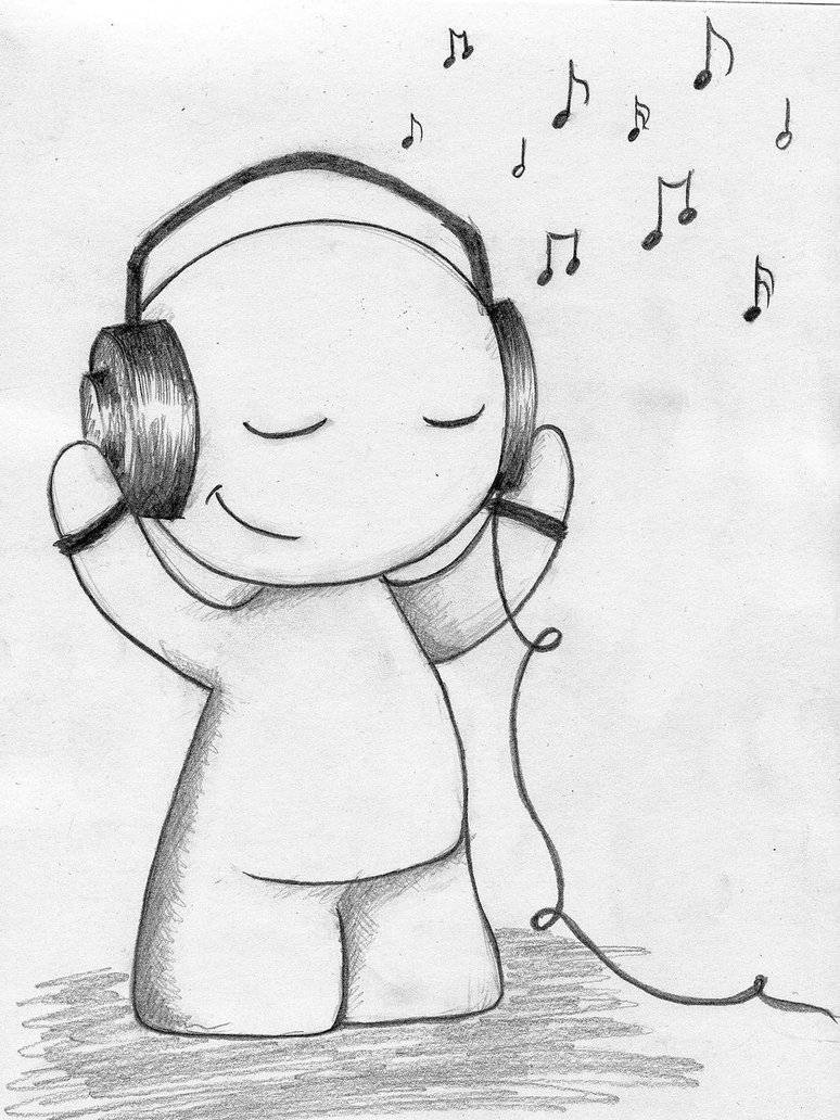 a positive outlook can be created with the music you listen to