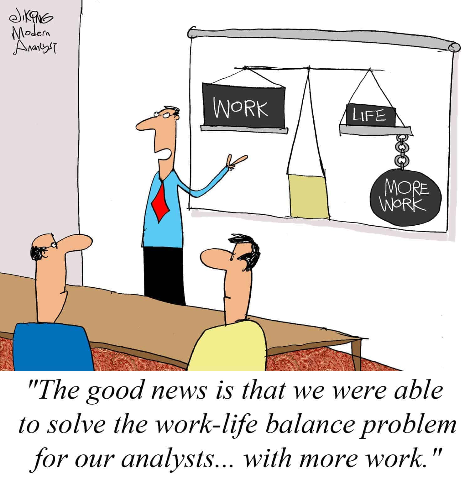 work-life balance can be achieved