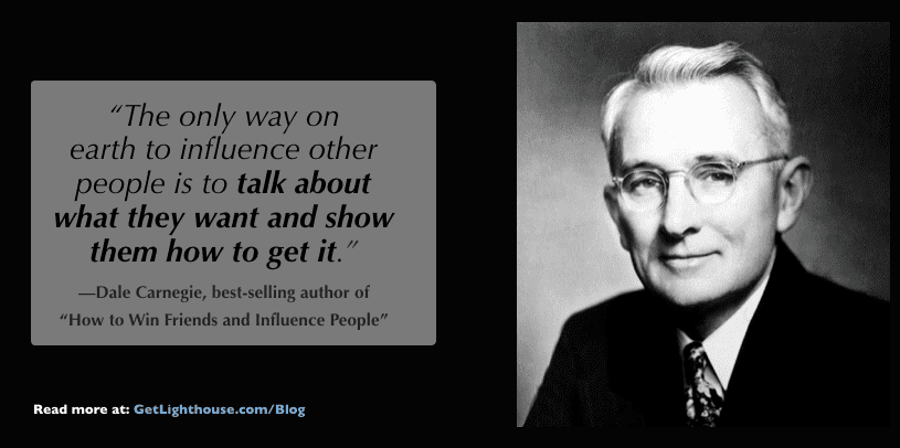 get buy in by winning others over like Dale Carnegie