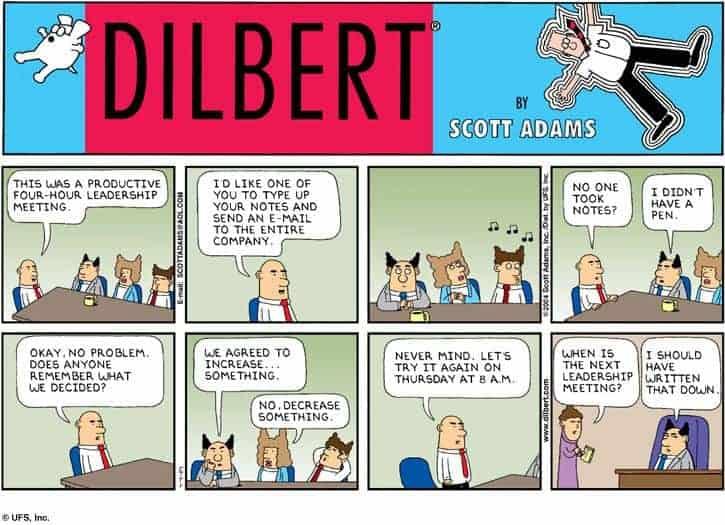 get buy in at work or have terrible meetings