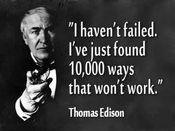 an understanding manager accept failure