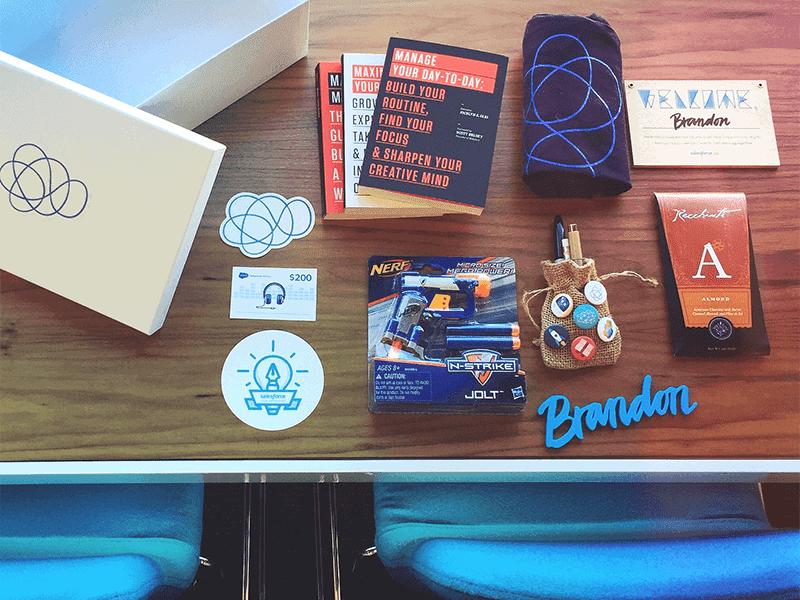 onboarding process kit from salesforce