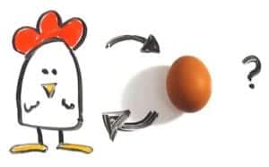 how to become a manager - avoid the chicken or the egg conundrum
