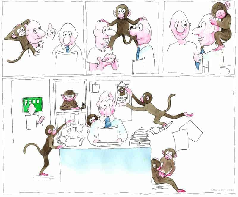 whose monkey is this? accountabilty vs. responsibility