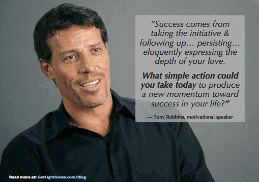 How to Overcome Your Personal Weaknesses to be a great leader - Tony Robbins take action