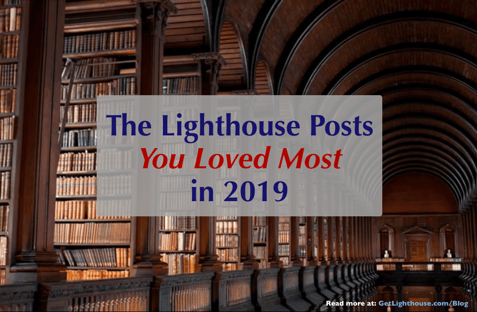 the best posts of 2019 on the get lighthouse blog