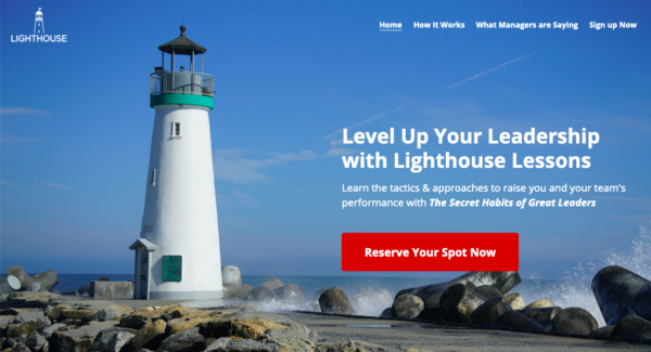 lighthouse leadership lessons program is here to help you