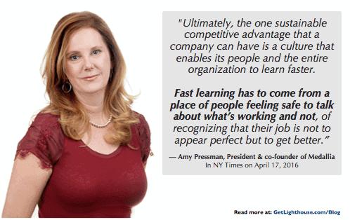 senior managers thrive on feedback